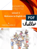 English for Beginners Lesson 1