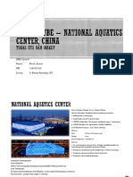 Water Cube – National Aquatics Center, China