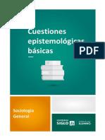 2. Cuestiones Epistemológicas Básicas