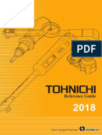 Tohnichi Catalog 2018