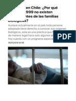 Adopción en Chile