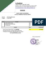 Invoice Pembayaran Paket Sambolo Carita