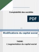 Comptabilité Des Sociétés S6_Modifiction Du Capital (1)