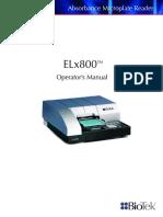 ELx800 Operators Manual_7331000 Rev T