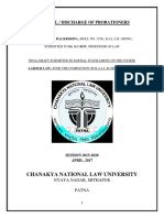 Dismissal,Discharge of Probationers