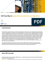SAP Road Map for Engineering Construction and Operations SUGEN Presentation