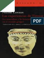 LORAUX. Las experiencias de Tiresias (Lo masculino y lo femenino en el mundo griego).pdf