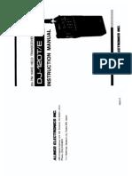 Alinco DJ-120 Instruction Manual