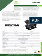 Motores Diesel Weichai Serie WP4