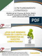 2018-2-3 TERCERA_SEMANA_Modelo de Las 5 Fuerzas de Porter. Matriz de Perfil Competitivo_MPC. Matriz de Perfil Referencial_MPR.