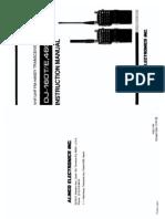 Alinco DJ-160_460 Instruction Manual