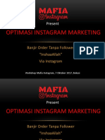 Optimasi Instagram Marketing - WS Bekasi