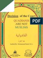 Decison of Court