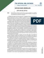 Real Decreto-ley 3-2018, De 20 de Abril, Por El Que Se Modifica La Ley 16-1987