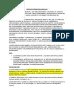 Derecho Internacional Privado Resumen