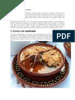 Gastronomía de Cuitláhuac