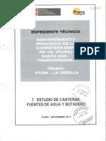 7 - Estudio de Canteras, Fuentes de Agua y Botaderos.pdf