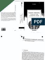 Evaluacion Conductual Hoy. Un Enfoque Para El Cambio en Psicologia Clinica y de La Salud