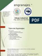 Clasificacion de Los Engranajes Esposicion Dibujo Industrial