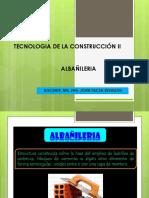 Tecnologia de La Construcción II-Albañileria