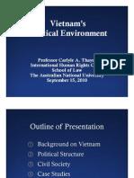 Thayer Vietnam's Political Environment