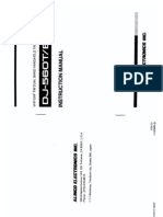 Alinco DJ-560T Instruction Manual