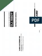 Alinco DJ-580T Instruction Manual Part 1