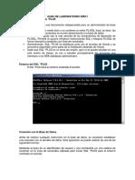 1.-Laboratorio SQLPLUS