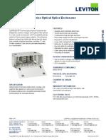 Leviton DPSxU-STD6 LightSpace DPS Series Enclosures