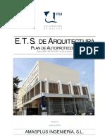 Plan de AutoprotecciOn Edificio Arquitectura. 120712