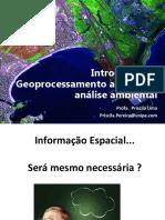 Introdução geoprocessamento
