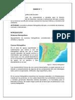 Deber 1 - Division Hidrografica