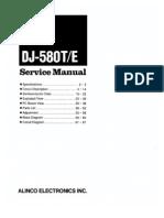 Alinco DJ-580T Service Manual
