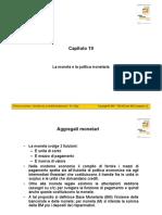 Cap 19 Slide Cellini politica economica