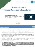 CIFRA - Peso de Las Tarifas en Los Salarios