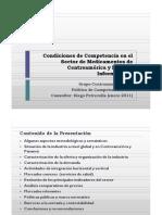 Condiciones de Competencia en El Sector Medicamentos CA y Pan