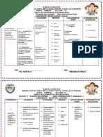 Planificacion II Bimestre Erika Primero Primero a 16 de Abril de 2017