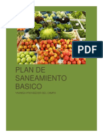 Plan de Saneamento Basico FRUVER
