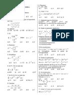 Miscelanea de Algebra (1)