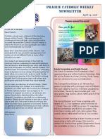 Newsletter 4 19 18