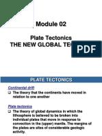 Module 02 Dan 03 Plate Tectonic, Gerak Dan Sifat Interaksi