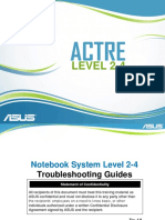 Asus Notebook Certificate Repair Training Engineer (CHER) Level 2-4