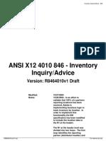 846 Inventory