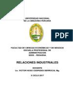 Ralaciones Industriales