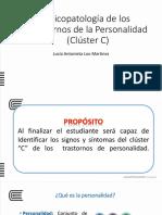 5.-Trastornos de Personalidad Cluster C