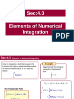 4.3_Elements of Numerical Integration