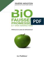 Bio - Fausses Promesses Et Vrai Marketing