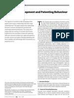 Economic Development and Patenting Behaviour