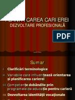 Suport AA 04_Planificarea Carierei