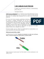 7. Tipos de Cables Electricos